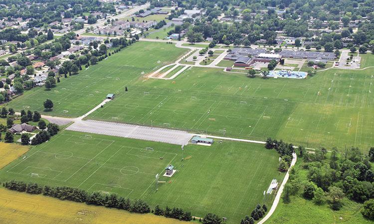 Blackwell soccer field aerial b